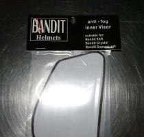 Bandit  - FOG FREE - inner visor - ANTI-FOG