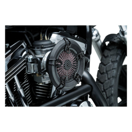 CRUSHER REVOLT AIR CLEANER - BLACK - MESH