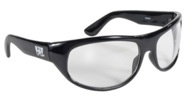 Sunglasses - Kickstart - THE WRAP - CLEAR/Black by KD's