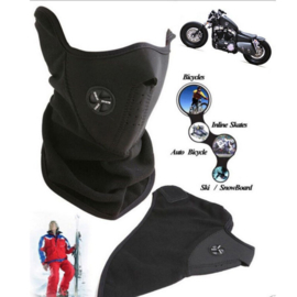 Face Mask - Neoprene - Fleece - Air Ventilation System