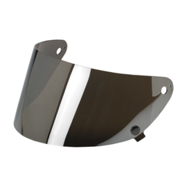 Biltwell Gringo S - Shield Visor - Anti-FOG - Chrome Mirror