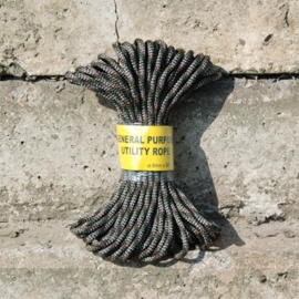 Utility Rope - Black / Camouflage / Green - 7mm