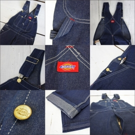Dickies - Blue Bib Overall - (Ski King videoclips inside!)