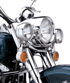Recessed Trim Ring Chrome - FL / ROAD KING & other models