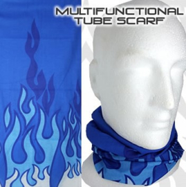 Blue Flames - Tube - NeckTube