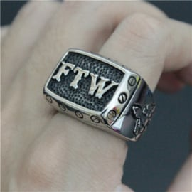 FTW Ring - Raising Middle Finger