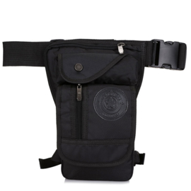 Rider - Hip / Leg Bag - Rough Black
