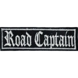 PATCH - Flash / Stick - Old English lettertype - ROAD CAPTAIN