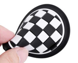 Checkered Coasters (set of 2)