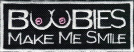 362 - Patch - BOOBIES make me SMILE