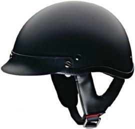 HCI Police VISOR for Half Helmet DOT-100 - CLEAR