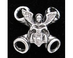 Vest or Boot Lacers (6 pieces) - Guardian Biker Angel