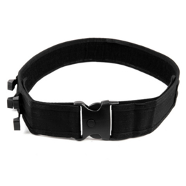 Police Belt - with 4 plastic handcuffs (integrated) Gun Belt