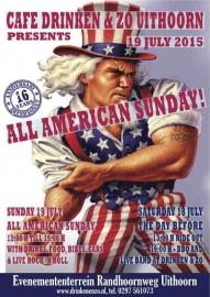 x 2015/07, 19 jul. - Uithoorn - Harleydag & All American Sunday!!!