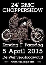 x 2015/04, 05 apr. -  Choppershow Rogues