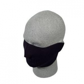 Face Mask - Half - Black Neoprene - 101 Basics