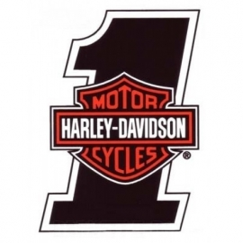 HARLEY-DAVIDSON Number ONE / Nr1 - DECAL