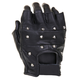 Gloves - Leather & Spikes - Fingerless
