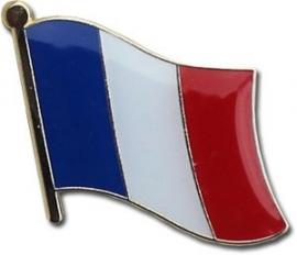 P179 - Pin - Waving Flag - France
