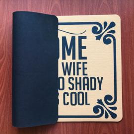 Welcome Beware Of Wife - Doormat
