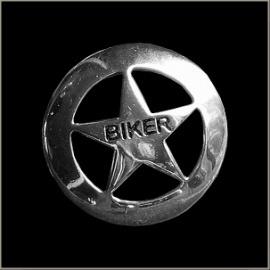 P136 - Pin - Lone Star Biker - Large