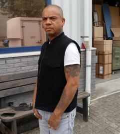 Black Denim Vest  'Sonny' - 6 pockets