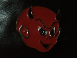 B146 - Belt Buckle - Devil