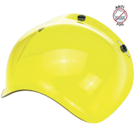 Biltwell Jet - ANTI-FOG - Bubble Visor - Yellow - Bubble Shield