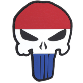 PVC & VELCRO PATCH - Punisher - Dutch flag - Nederlandse vlag - Holland - the Netherlands