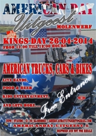 x 2014/04, 26 apr. - Koningsdag USA-day Uitgeest - CANCELLED