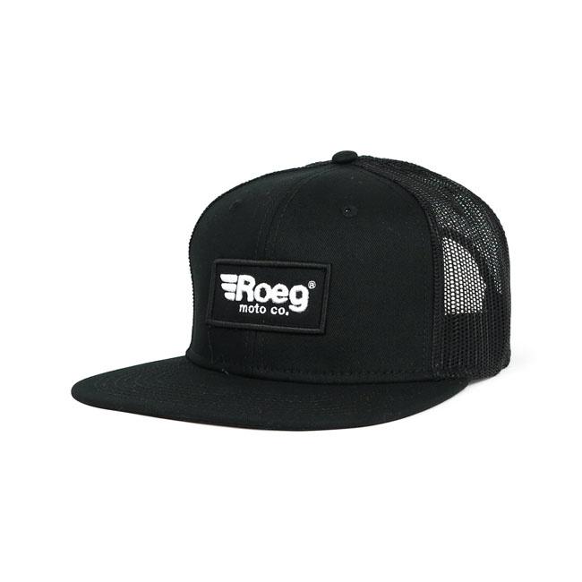 The ROEG® Blake black flatpanel - rapper snapback cap