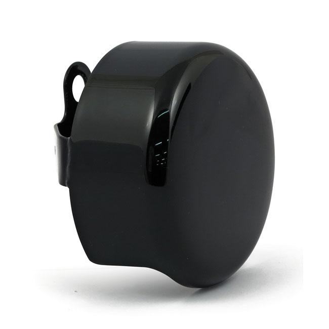 Black Custom Horn Cover - Round