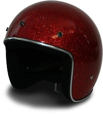 HCI Helmet - Mega Metal Flake - DOT - Red