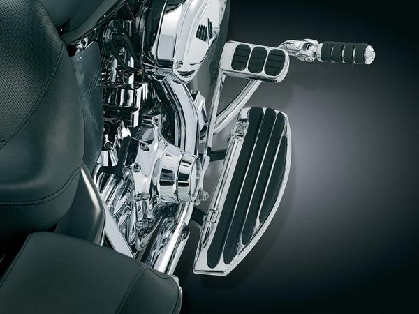 Kuryakyn 7841 Chrome Extended Cruise Arm Mark IV Floorboard Harley Softail 00-17