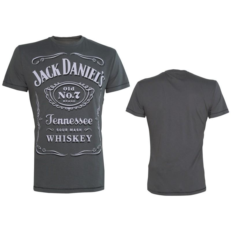 T-shirt - Jack Daniels Old No.7 Original - GREY