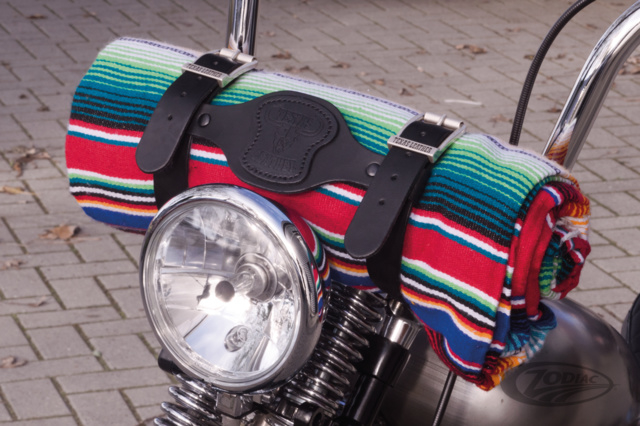 Mexican blanket DeLuxe - Rainbow Colors - made in Mexico