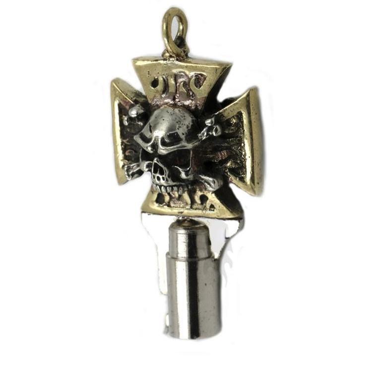 Skull Cross Key for Harley-Davidson - Handmade!