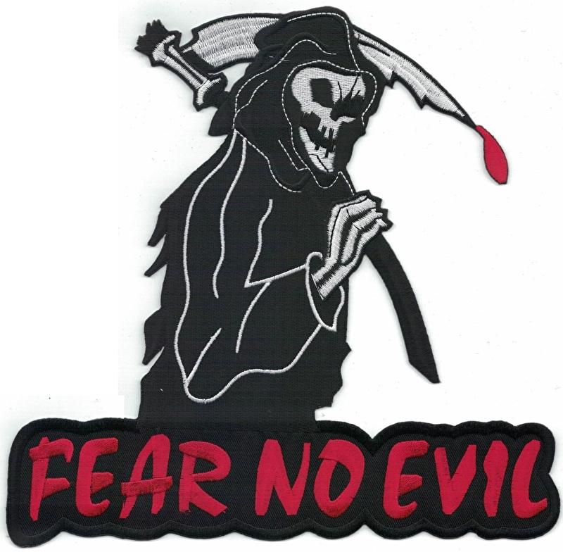 000 - BackPatch - FEAR NO EVIL - Grim Reaper