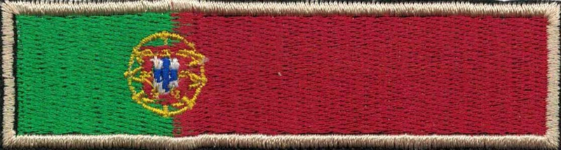 361 - PATCH - Portugese Flag Stick - Portugal