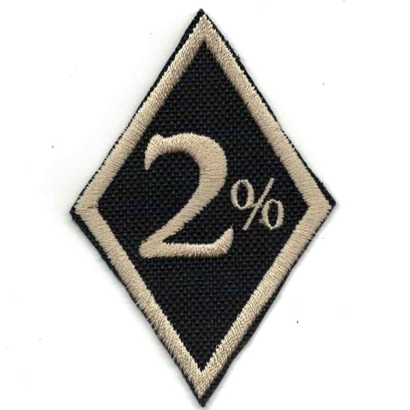 Golden PATCH - diamond - 2 % - Two Percent
