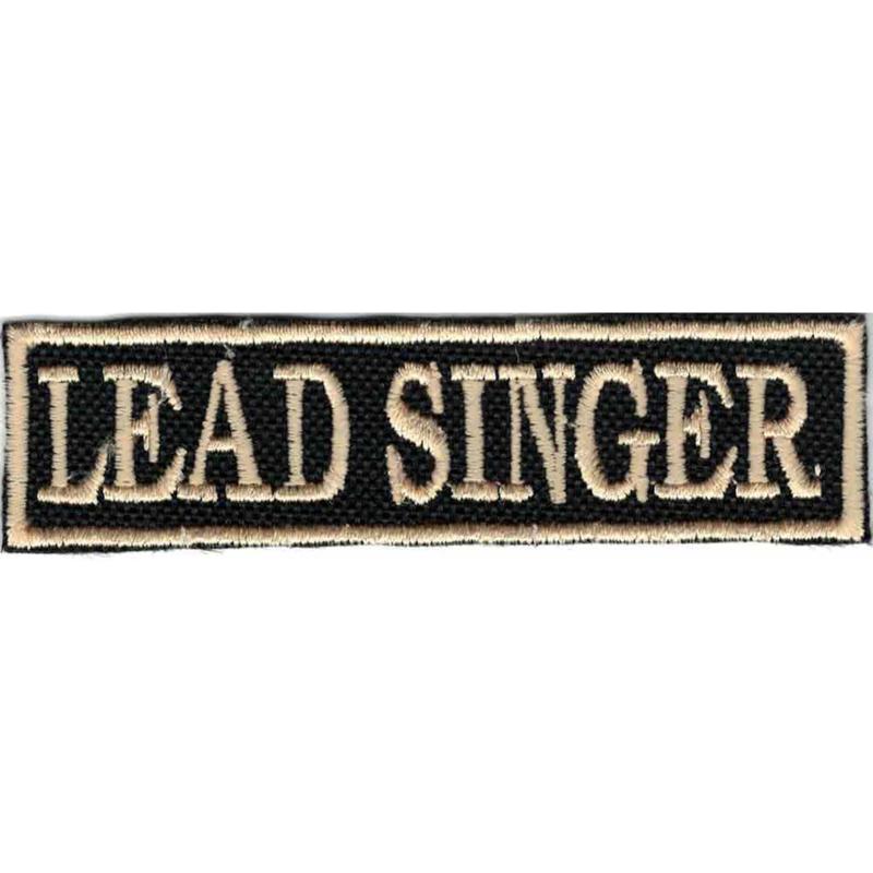 Golden PATCH - Flash / Stick - LEAD SINGER