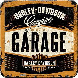 Harley-Davidson Coaster  - Genuine - GARAGE