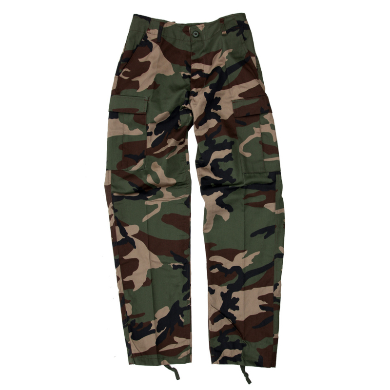 BDU Combat trousers - Woodland Camouflage