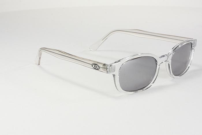 Clear Frame Silver Mirror Lens, Silver Mirror Frame Sunglasses