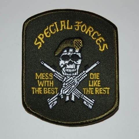 195 - Patch - Special Forces mess with the best