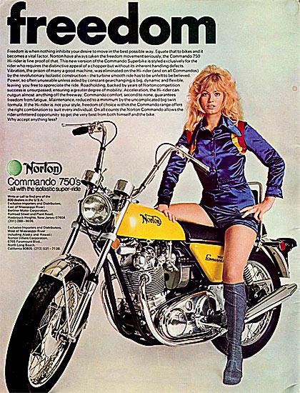 Norton Girls   Biker Girlz   BadBoy NL