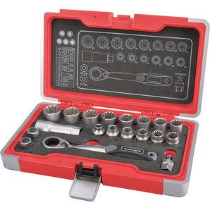 Rothewald Multi-Socket Wrench Garage Tool Set  - Torx, Metric & INCH