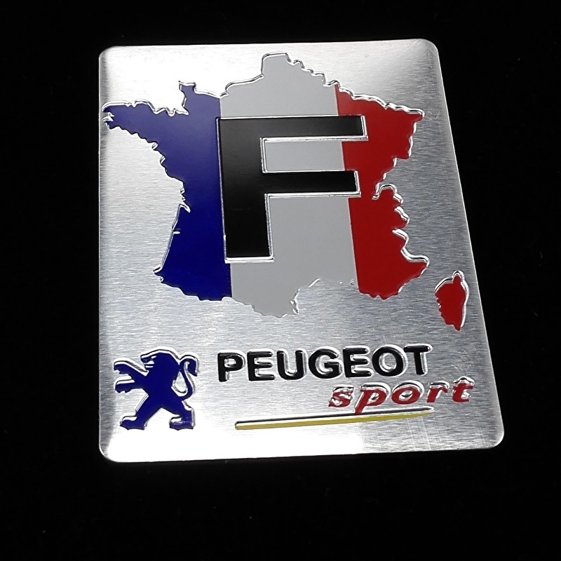 Peugeot Sport - logo (1 set)