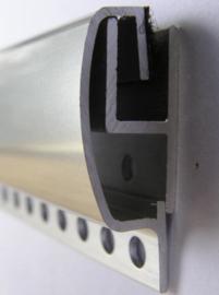 Aluminium ophang/schuifprofiel 100cm
