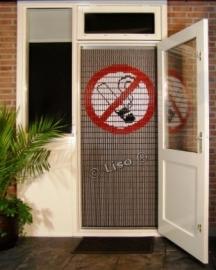 Verboden te roken vliegengordijn 113 (doe-het-zelf-pakket)